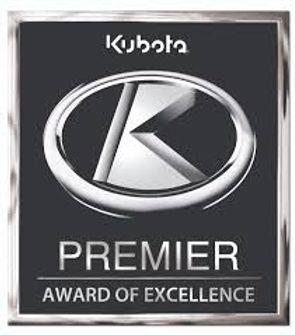Kubota Premie Dealer Award