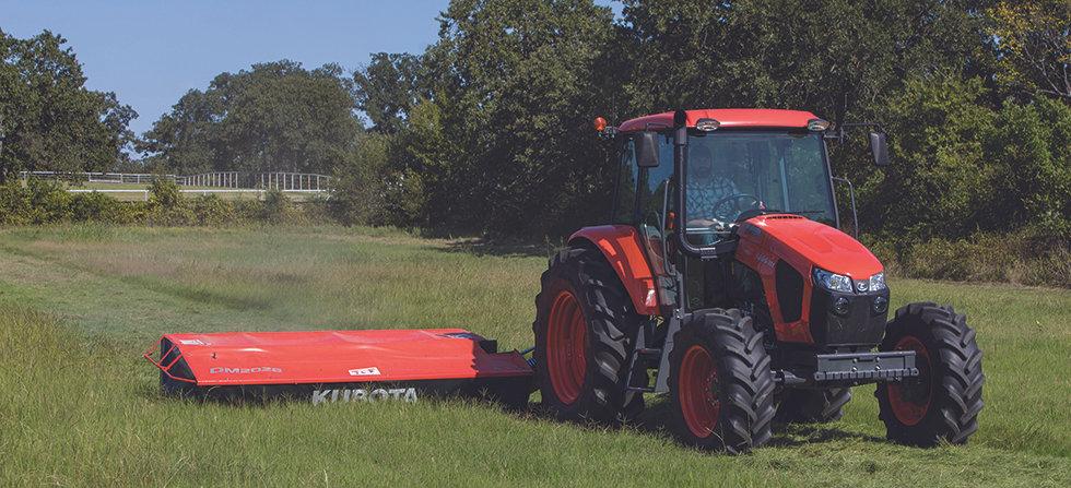 kubota utility tractor mseries