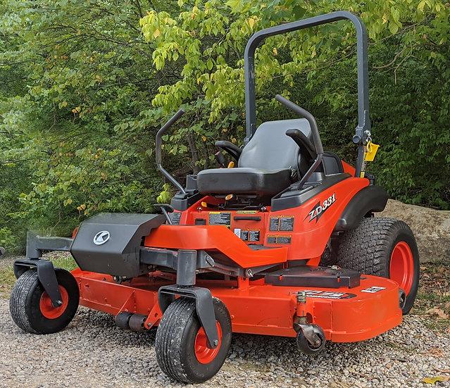 Kubota ZD331-72 Diesel Zero Turn Mower