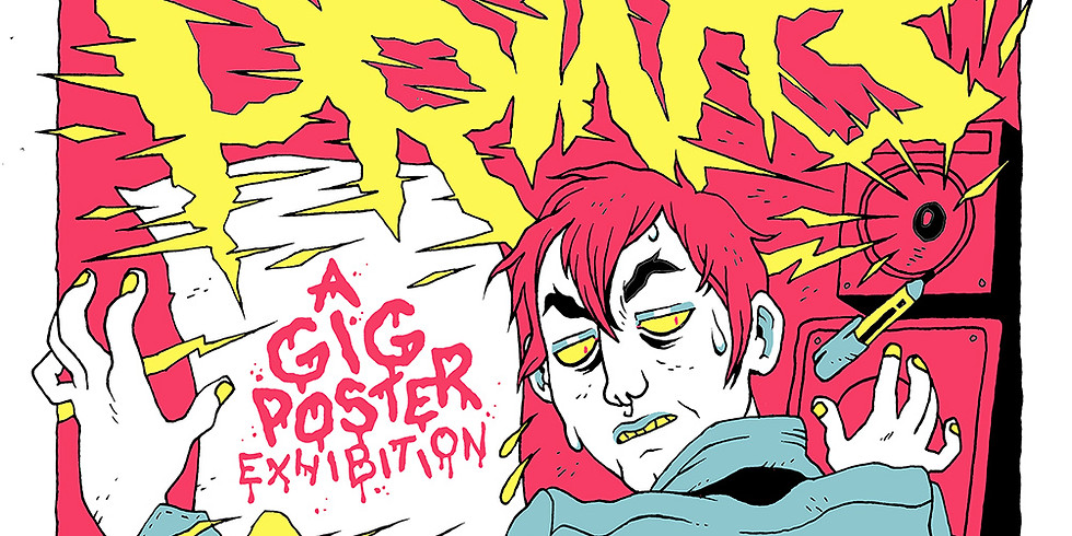 REVERB PRINTS A GIG POSTER EXHIBITION