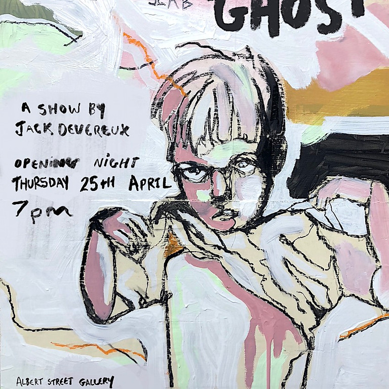 Hungry Ghost - Art exhibition by Jack Devereux