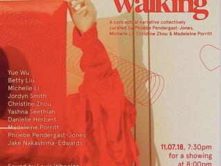 RMIT Fashion. Sleep walking