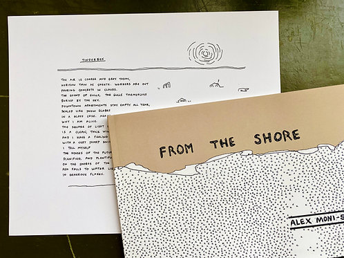 From the Shore Book +Broadside Print