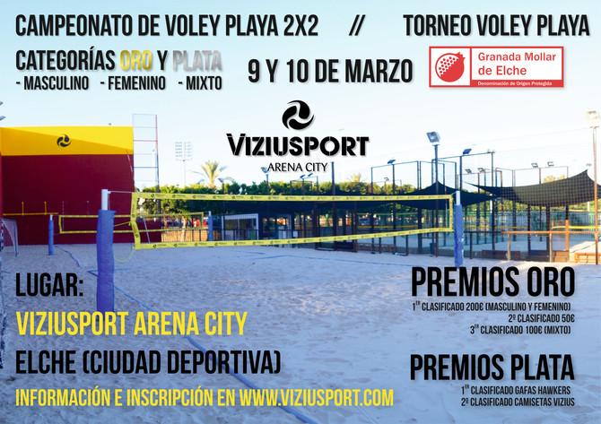 TORNEO VOLEY PLAYA 2x2 en ELCHE!!
