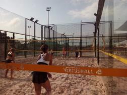 Escuela de tenis playa