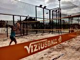 Tenis playa en pista de vizius