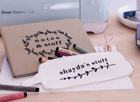 How to Create Personalized Stationery With the Cricut Explore Air 2