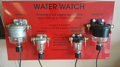 Water Watch is available to suit many different diesel applications including marine and industrial