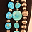 Thumbnail: Sterling Silver and Turquoise Beads, Sleeping Beauty