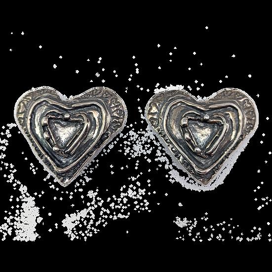 Sterling Silver Clip-on Earrings