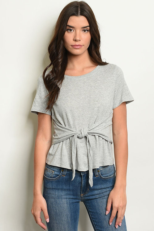 Womens Gray Top