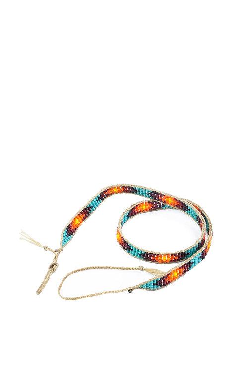 Glass Bead Hatband V