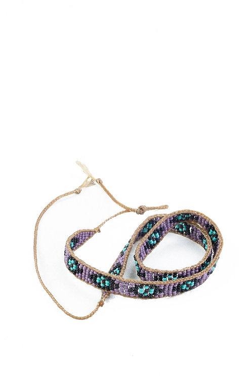 Glass Bead Hatband