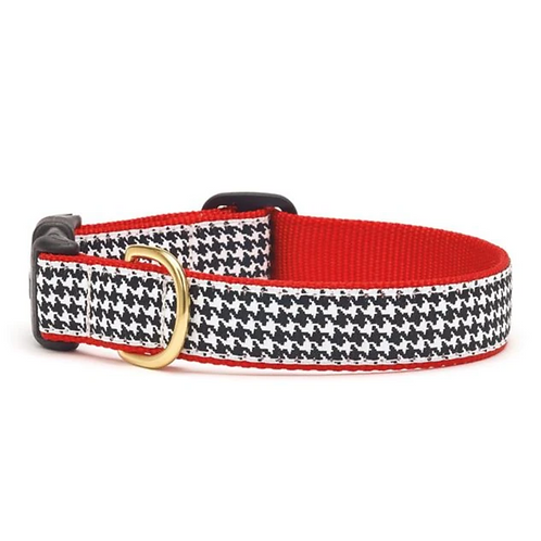 Houndstooth Dog Collar