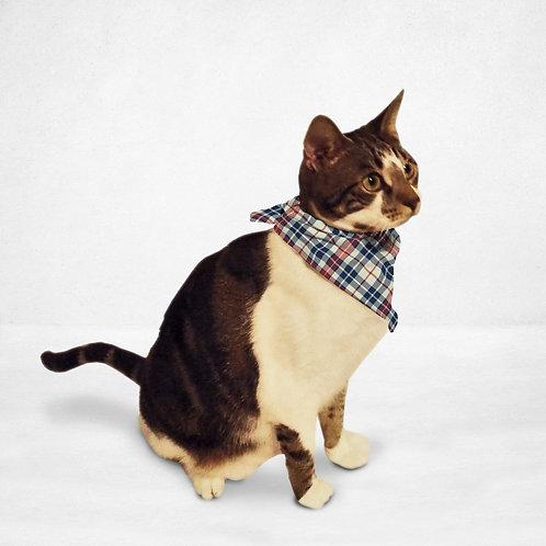 Light Plaid Cat & Dog Bandana