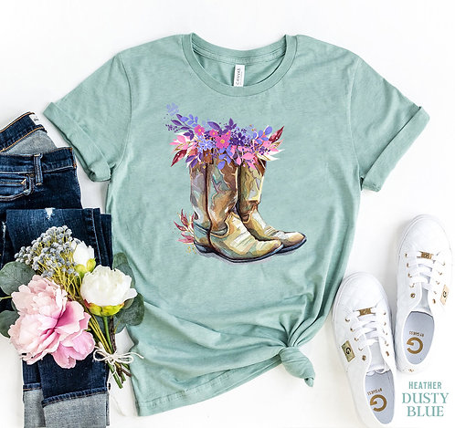 Cowgirl Boots T-shirt