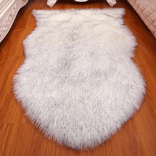 Fur Faux Artificial Sheepskin Carpet Washable Seat