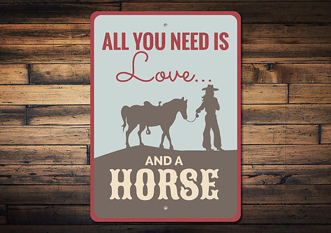 Horse Quote Sign