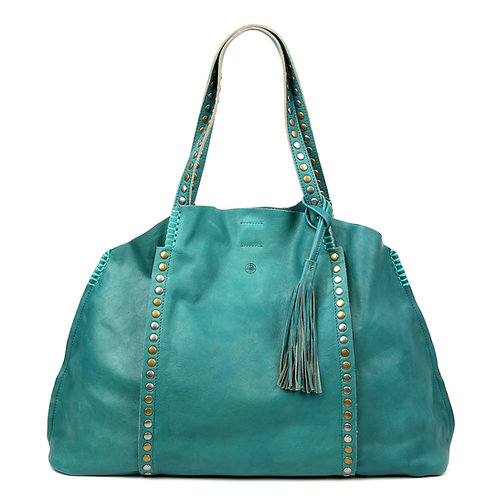 Leather Birch Tote