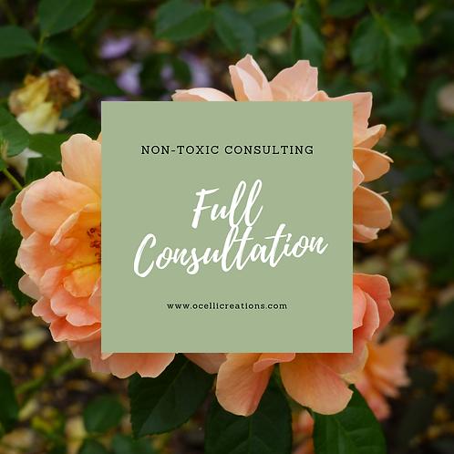 Non-toxic consulting -- Full Consultation