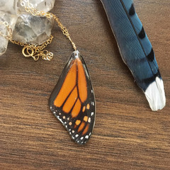 Monarch wing necklace.JPG