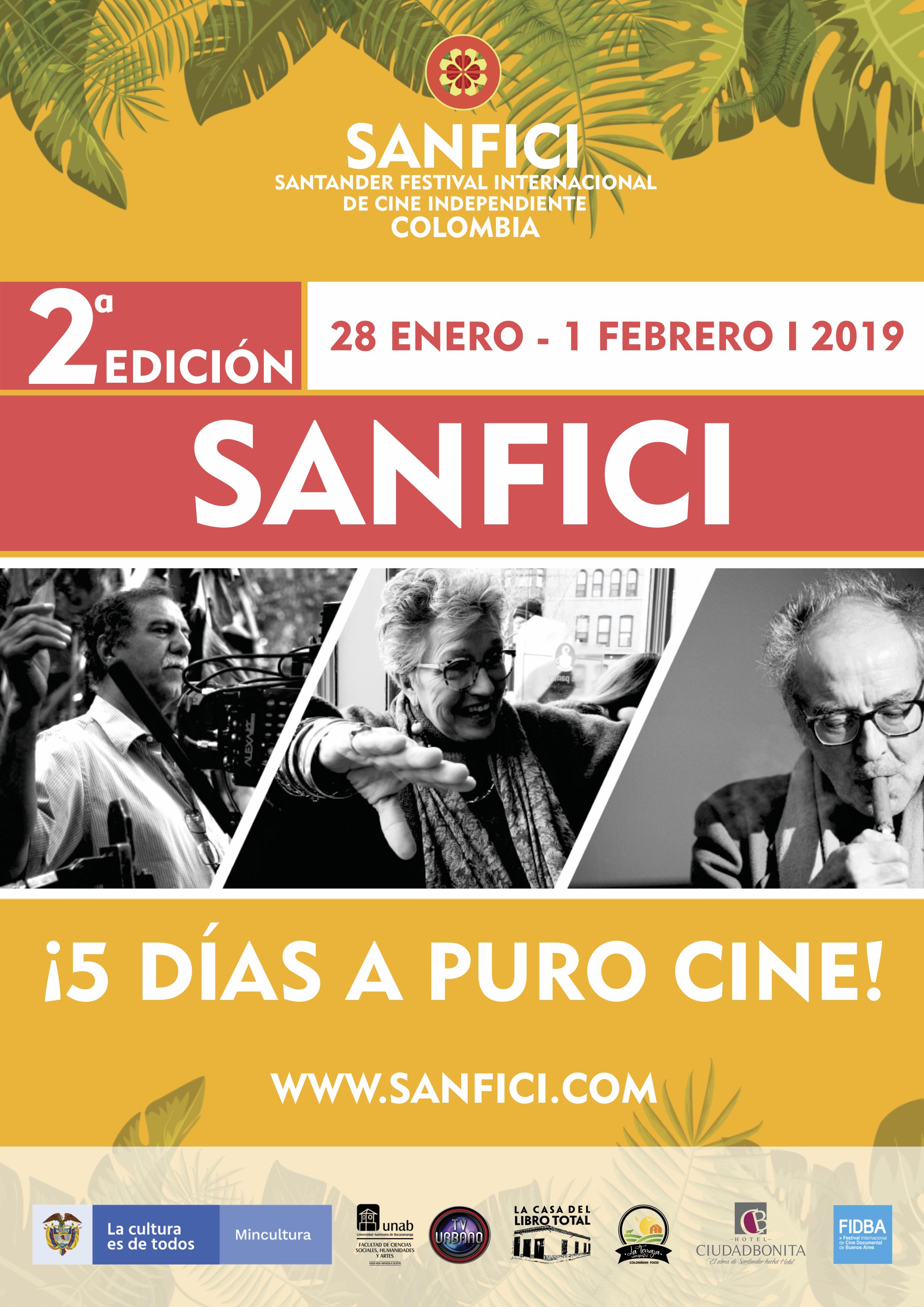 SANFICI / Afiche Oficial 2019