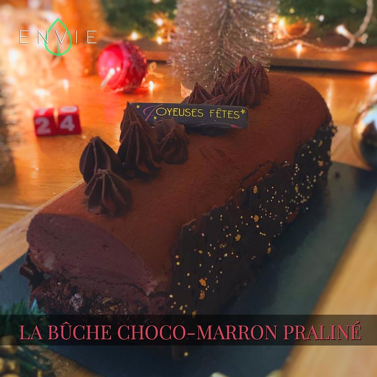 Bûche Chocolat praliné (Gluten Free)