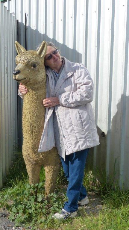 Ballarat Jenny Gault and friend at Cresw