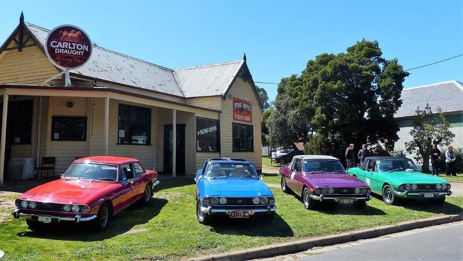 Triumph Car Club of the ACT - Event