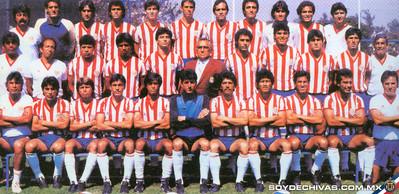 CLUB DEPORTIVO GUADALAJARA 1986-1987