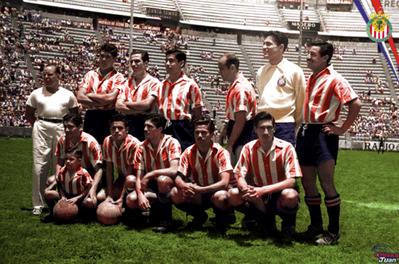 CLUB DEPORTIVO GUADALAJARA 1953-1954