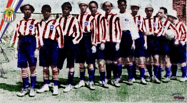 CLUB DE FÚTBOL GUADALAJARA 1920