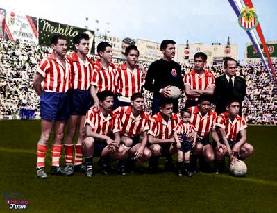 CLUB DEPORTIVO GUADALAJARA 1955-1956