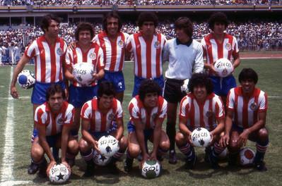 CLUB DEPORTIVO GUADALAJARA 1980