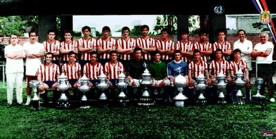 CLUB DEPORTIVO GUADALAJARA 1969- 1970