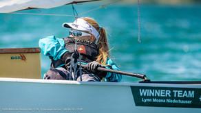 Bootswerft Beck unterstützt Nachwuchsseglerin Lynn Moana Niederhauser