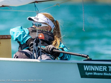 Le chantier naval Beck sponsorise la jeune navigatrice Lynn Moana Niederhauser!