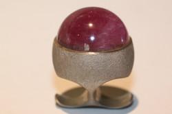 lesdeux-ring-rose-kugel
