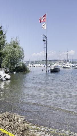 Le niveau d'eau ne descend pas encore...