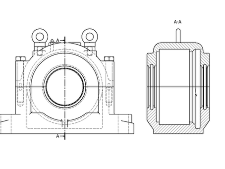 Are you using the correct bearing housings?