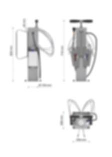 CykloHub servisní stojan pro cyklisty PRS-SV20.