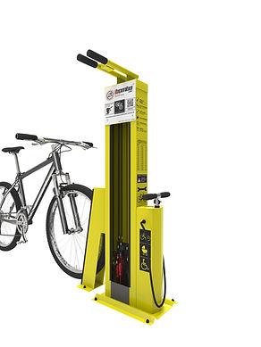 CykloHub servisní stojan pro cyklisty SCANDIC.