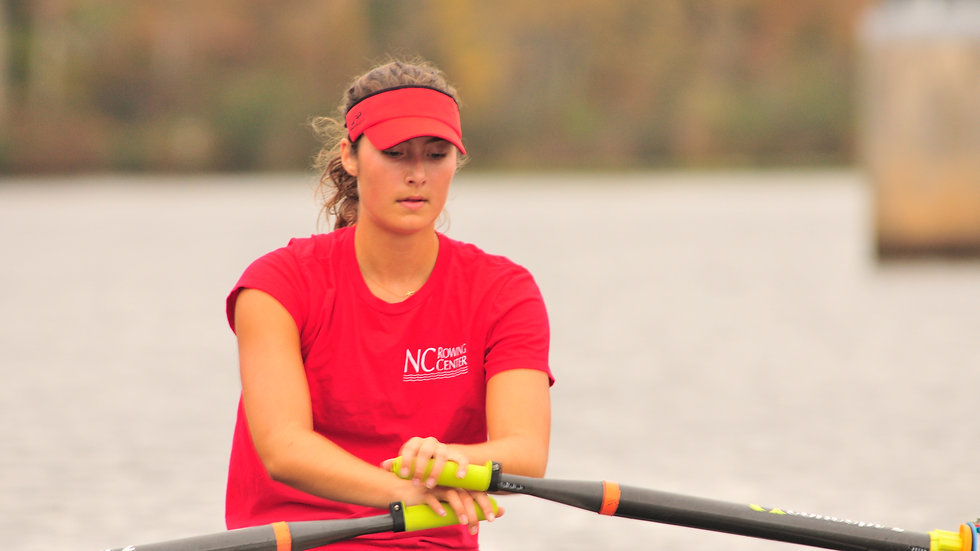 Rowing Center Red T-Shirt