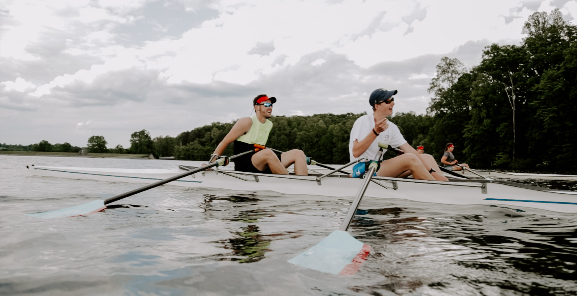 Rowing Greensboro Lake Higgins