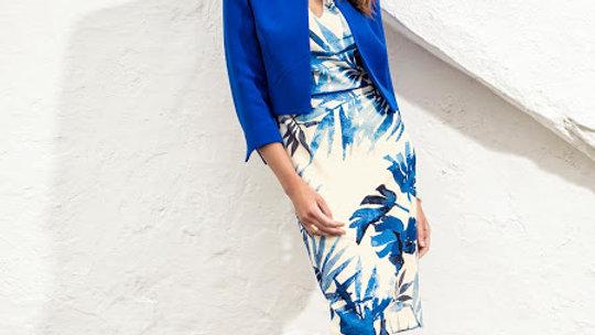 Michaela Louisa Jacket in Royal Blue