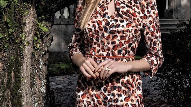 Michaela Louisa Printed Dress