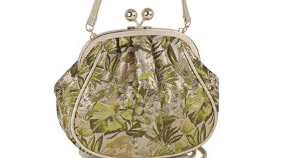 Arco Green/ Gold Ruby Shoo bag