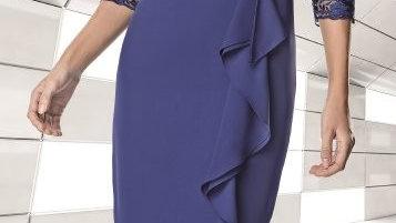 Sonia Pena Dress in Blue