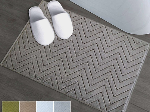100% Cotton Bathroom Mat
