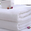 Thumbnail: 100% Cotton Pure White Heavy Terry Absorbent Towel For Bathroom